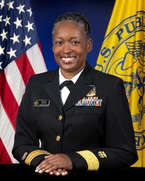 Rear Admiral Aisha K. Mix