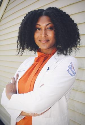 Hampton University PharmD student Tiffany Alfred