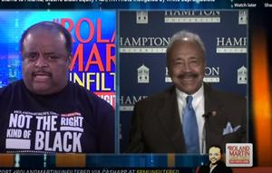 Dr. William R. Harvey and Roland Martin