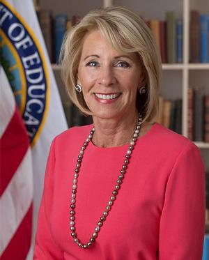 Betsy DeVos, U.S. Secretary of Education
