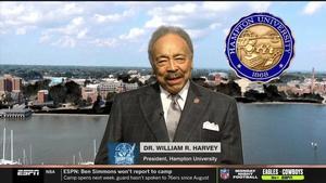 Dr. William R. Harvey, Hampton University President